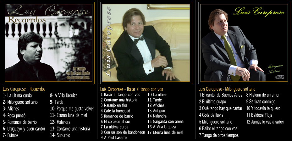 discografia luis caroprese